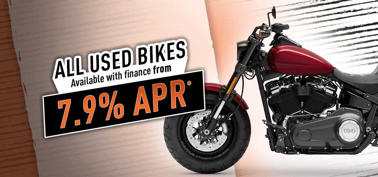 Maidstone Harley Used Bike Finance Offer